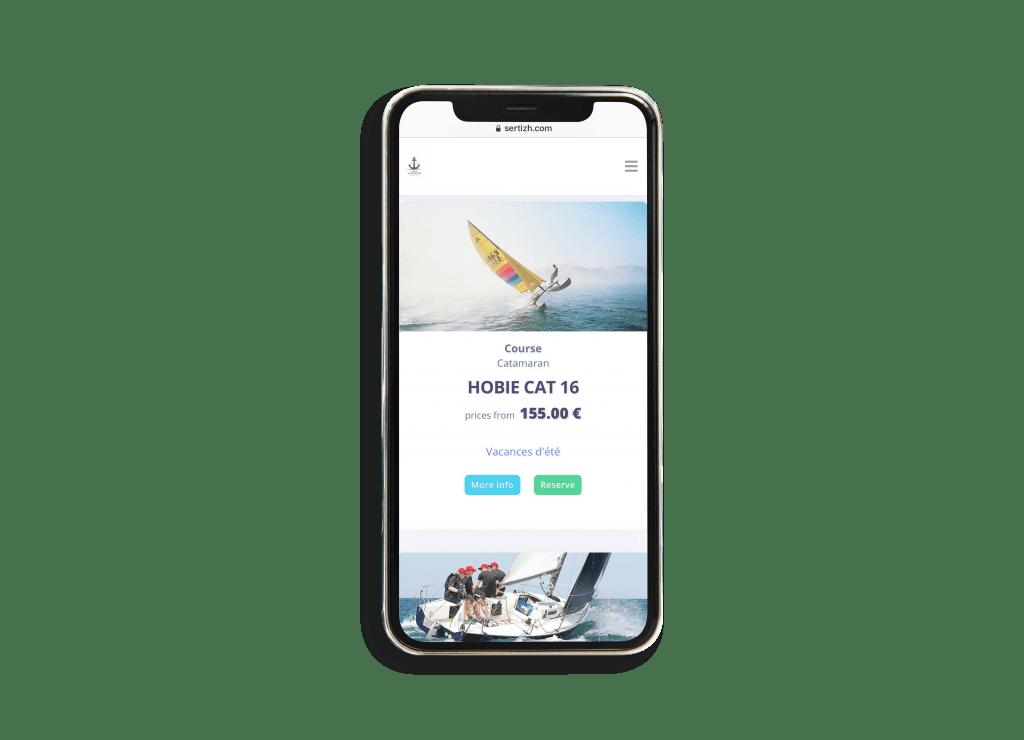 solution e-commerce Sertizh sports loisirs